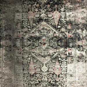 فرش وینتیج رنگ صورتی2