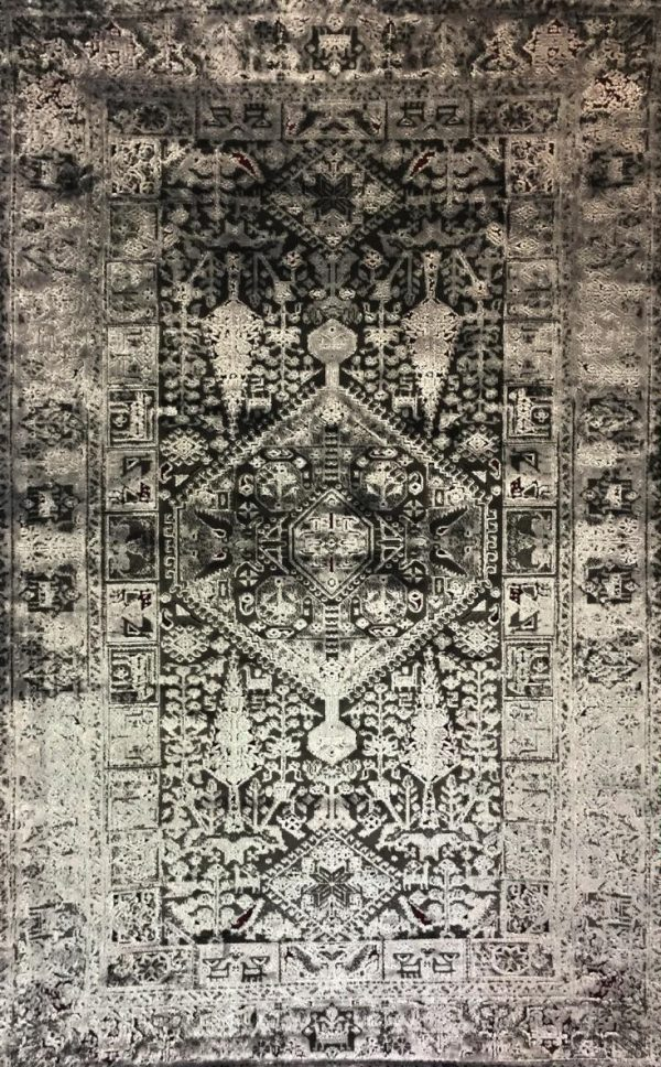 فرش نقش کهن کلکسیون پتینه کد 2023violet