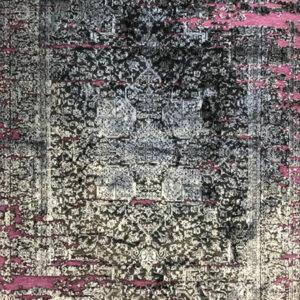 فرش وینتیج رنگ یاسی4