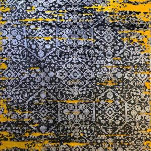 فرش وینتیج رنگ زرد