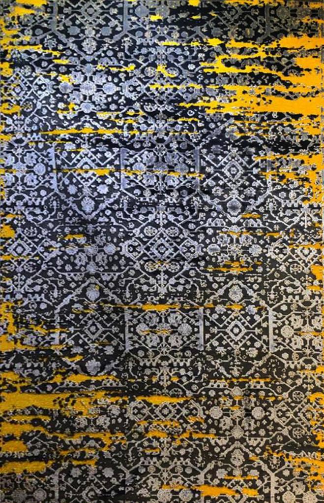 فرش وینتیج کد۲۰۱۹yellow