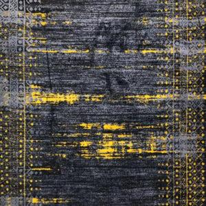فرش وینتیج رنگ زرد5