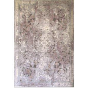 فرش نقش کهن طرح فرانسوی کلکسیون کالرفول بنفش کد ۱۴۲۸