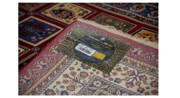 فرش سهند کلاسیک زمینه سرمه ای کدV103.BU