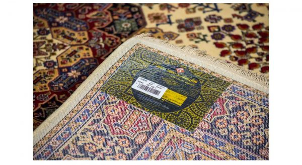 فرش سهند کلاسیک زمینه کرم کدV105.5U