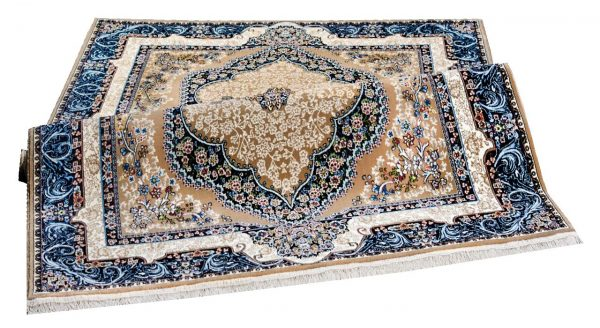 فرش سهند کلاسیک زمینه کرمی کد VF12.KK