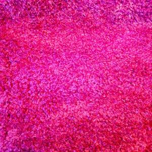 فرش شگی فلوکاتی قرمز