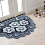 فرش سه بعدی زرباف طرح اطلسی