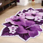 فرش سه بعدی زرباف طرح ارکیده