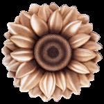 فرش سه بعدی زرباف طرح گل آفتابگردان