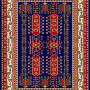 فرش ساوین طرح بهرخ