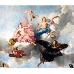 تابلو فرش ماشینی طرح فرشته ها کد Y204