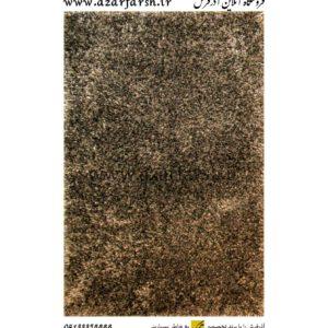 فرش شگی فلوکاتی آذرفرش رنگ مشکی