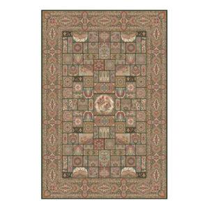 فرش 700 شانه دستباف گونه کویر یزد کد Q044-1099
