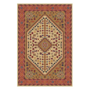 فرش 320 شانه کویر یزد کد B008-5003