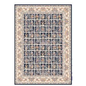 فرش ماشینی 1200 شانه بهشتی کلکسیون تبریز کد 1361