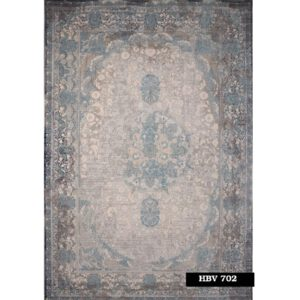 فرش ماشینی 1200 شانه خاطره کاشان کد HBV 702
