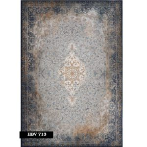 فرش ماشینی 1200 شانه خاطره کاشان کد HBV 713