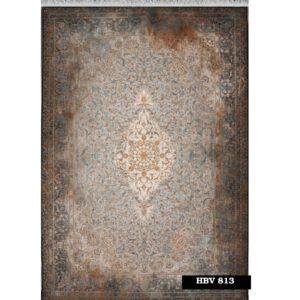 فرش ماشینی 1200 شانه خاطره کاشان کد HBV 813