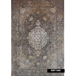 فرش ماشینی 1200 شانه خاطره کاشان کد HBV 840