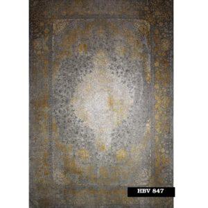 فرش ماشینی 1200 شانه خاطره کاشان کد HBV 847