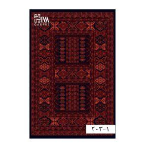 فرش ماشینی 700 شانه هیوا کلکسیون بلوچ کد 1-203
