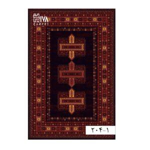 فرش ماشینی 700 شانه هیوا کلکسیون بلوچ کد 1-204