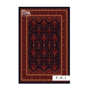 فرش ماشینی 700 شانه هیوا کلکسیون بلوچ کد 1-206