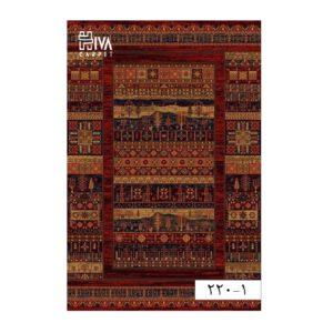 فرش ماشینی 700 شانه هیوا کلکسیون بلوچ کد 1-220