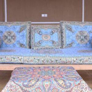 ست شاه نشین پشتی سنتی کد 1005