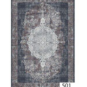 فرش ماشینی 500 شانه هیوا کلکسیون پلی استر کد 501
