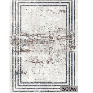 فرش ماشینی 500 شانه هیوا کلکسیون پلی استر کد 509W