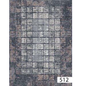 فرش ماشینی 500 شانه هیوا کلکسیون پلی استر کد 512