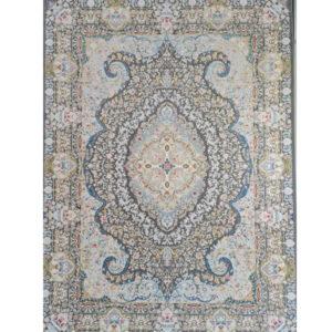 فرش ماشینی 1200 شانه رویای کمال طرح آنای دودی