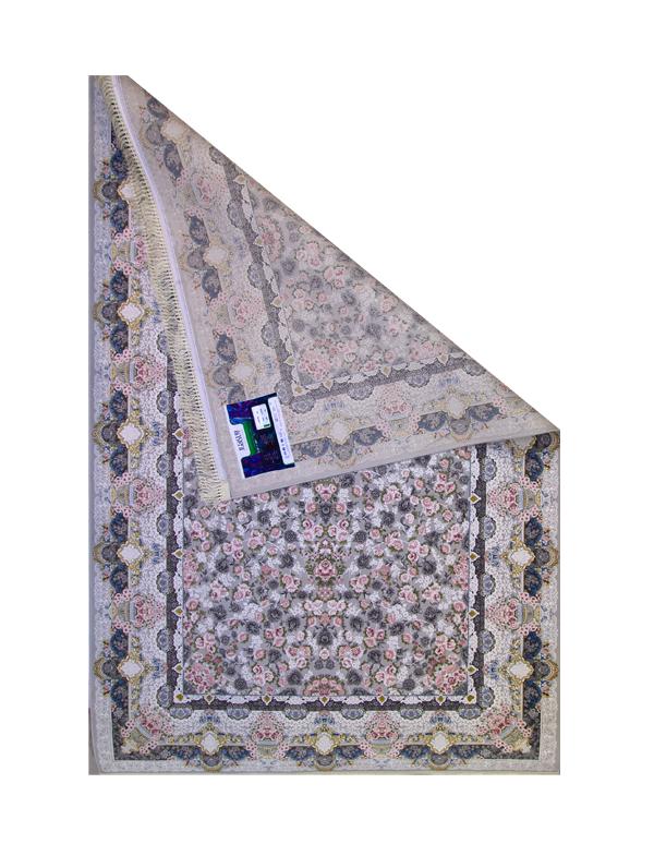 فرش ماشینی 1200 شانه رویای کمال طرح خشتی دلربا فیلی