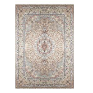 فرش ماشینی 1500 شانه خاطره کاشان کد HB 1505