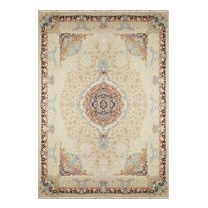 فرش ماشینی 1500 شانه خاطره کاشان کد HB 1507