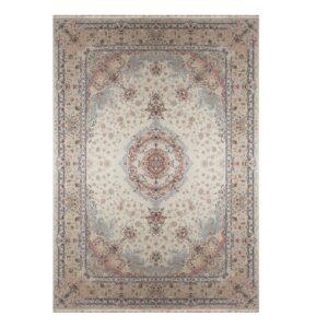 فرش ماشینی 1500 شانه خاطره کاشان کد HB 1508