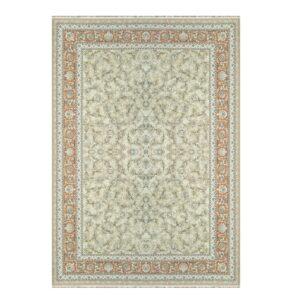 فرش ماشینی 1500 شانه خاطره کاشان کد HB 1528